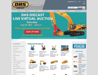 davesmodeltoys.com screenshot
