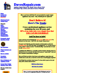 davesrepair.com screenshot