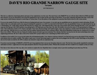davesriogrande.net screenshot