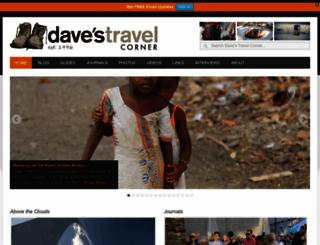 davestravelcorner.com screenshot
