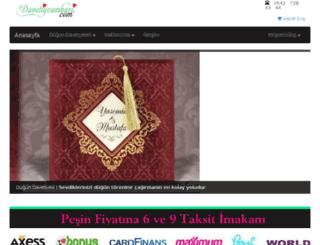 davetiyeambari.com screenshot