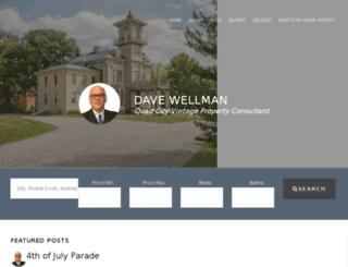 davewellman.com screenshot