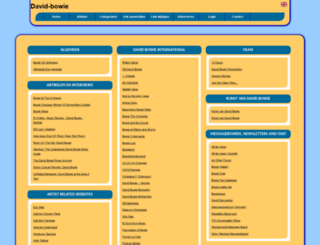 david-bowie.allepaginas.nl screenshot