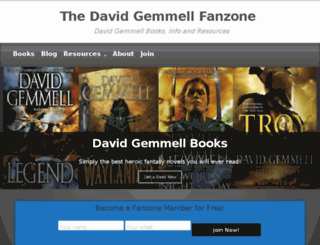 david-gemmell.com screenshot
