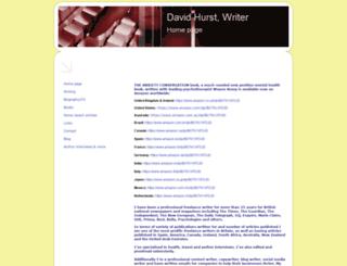 david-hurst.co.uk screenshot