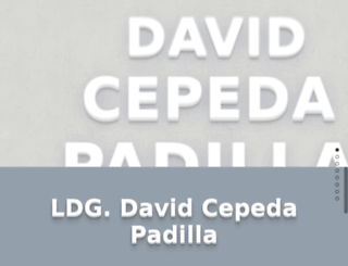 david.cepeda.mx screenshot