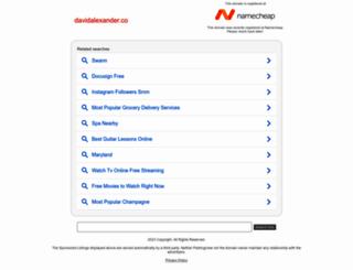 davidalexander.co screenshot