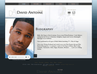 davidantoine.net screenshot