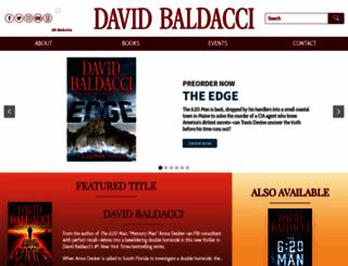 davidbaldacci.com screenshot