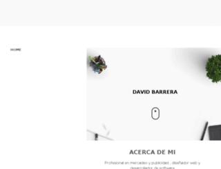 davidbarrera.net screenshot