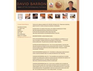 davidbarronfurniture.co.uk screenshot