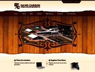 davidcarson.on.ca screenshot