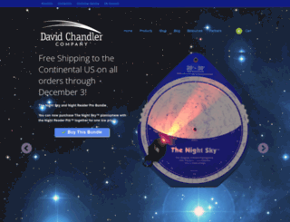 davidchandler.com screenshot