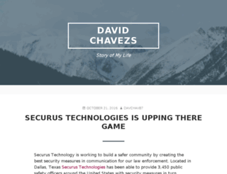 davidchavezs.net screenshot