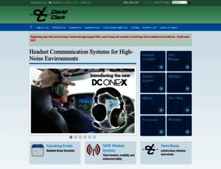 davidclark.com screenshot