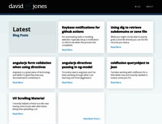 davidejones.com screenshot