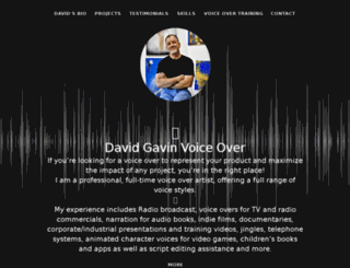 davidgavin-voice.branded.me screenshot
