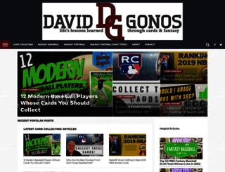 davidgonos.com screenshot