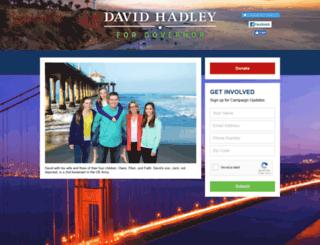 davidhadley.com screenshot