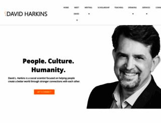 davidharkins.com screenshot