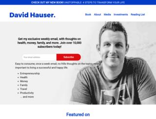 davidhauser.com screenshot
