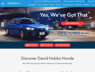 davidhobbs.com screenshot