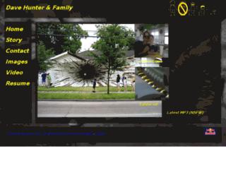 davidhunterfamily.com screenshot