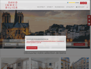 davidimmo.com screenshot