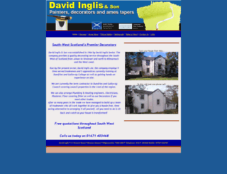 davidinglis.co.uk screenshot