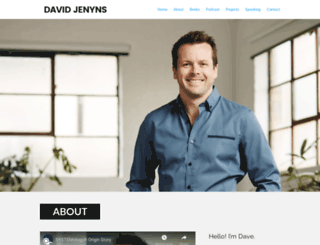 davidjenyns.com screenshot