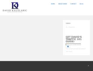 davidkauzlaric.com screenshot