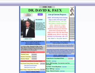 davidkfaux.org screenshot