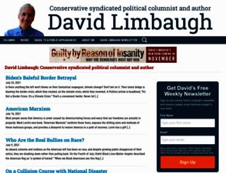 davidlimbaugh.com screenshot