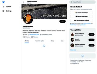 davidlockard.com screenshot