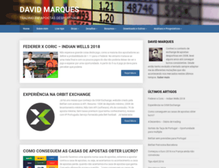 davidmarques.net screenshot
