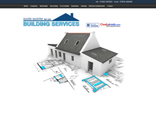 davidmartinbuilders.com screenshot