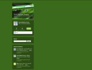 davidmatthias.typepad.com screenshot