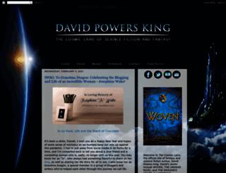 davidpowersking.com screenshot
