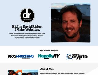 davidrisley.com screenshot