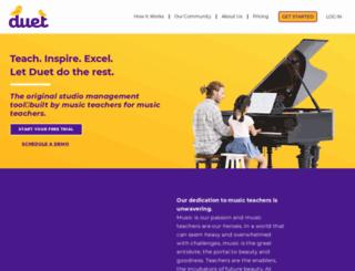 davidsguitarstudio.musicteachershelper.com screenshot