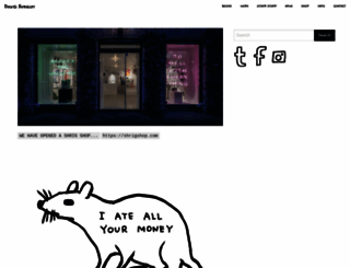 davidshrigley.com screenshot