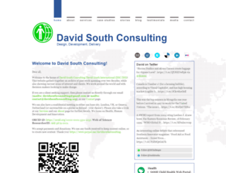 davidsouthconsulting.com screenshot