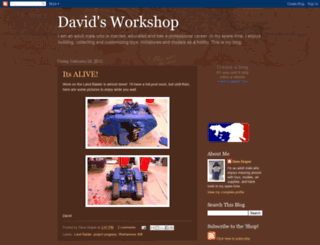 davidsworkshop.blogspot.com screenshot