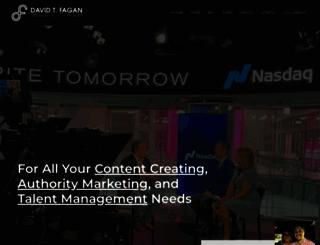 davidtfagan.com screenshot