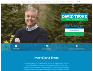 davidtrone.com screenshot