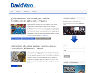 davidvaro.com screenshot