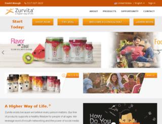 davidwaugh.zealforlife.com screenshot