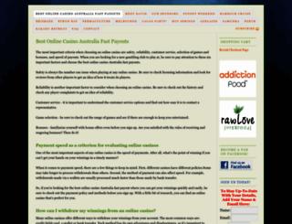 davidwolfeaustraliantour.com screenshot
