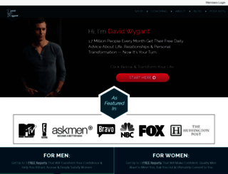 davidwygant.com screenshot