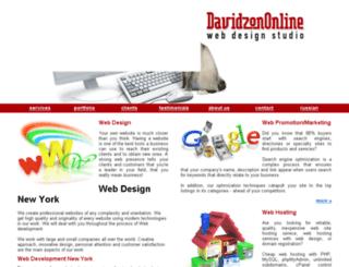 davidzononline.com screenshot